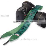 Green Leather Camera Strap Shoulder Neck Russian Series For DSLR for Canon for Nikon Q-02