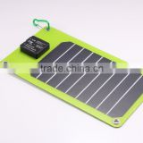 5W solar backpack panel charger with double USB
