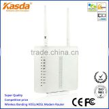 11b/g/n Gigabit Bonding DSL modem wifi router, four ports switch, one USB port, QOS, WPS, TR-069 Kasda KW5226-