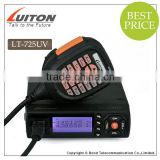 smallest design with fan 25W dual band vhf uhf mobile radio