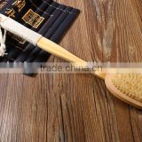 High Quality Body Brush Detachable Long Wood Wooden Massager Bath Shower