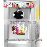 Single flavors Ice Cream Machine counter top stainless steel