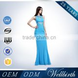 new hole joint long tail plus size bling bling cocktail dress                                                                         Quality Choice