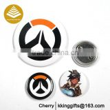 Sports meet badges/ sex tin blank button badge wholesale football badges/ custom metal pin badge