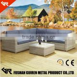 modern dining set table 6 cushion chairs set Outdoor Lawn Yard Garden Furniture                                                                                                         Supplier's Choice