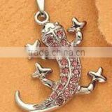metal animals charm/ gecko charms pendant necklace/house lizard pendant, Various Designs,13.7*20mm