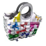 wine beer holder bag Woman's Bubble Beach Tote Large Bag for beach sport