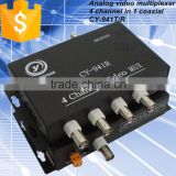 Digital Video Multiplexer Series 4 Channel Video Transmitter & Receiver for CCTV products.