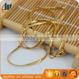 Stainless steel plating 18K gold Snake chains