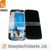 Factory LCD With Frame For LG E960 Nexus 4,For LG E960 Display With Digitizer Frame Replcement