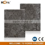 Factory price high imitation modified acrylic stone granite slab for hall floor