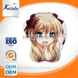 breast carton pattern mouse pad gel,silica mouse pad beauty girl,silicon breast mouse pad