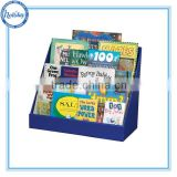 Retail Countertop Display Table Display Magazine,Comic Book Display Rack,Book Counter Sand