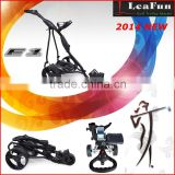 36 Holes Electric Golf Caddy With High Power Motors ,LCD/LED Display Handle .2014 New Design . Europe Design . Free Accessory