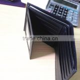 RFID wallet of Geunine leather for customized, RFID cool wallets with front pocket and credit card holder
