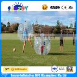 High quality inflatable ball suit walk in plastic bubble ball human sized hamster ball for sale