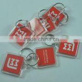New arrival clear insert photo key chain , custom blank acrylic keychain