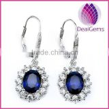 High quality sterling silver 925 zircon earring