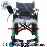 Folding Electric wheelchair with Smartism Joystick Power wheelchair lead acid lithium battery
