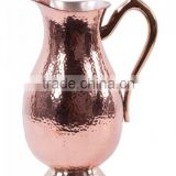 Pure Copper Hammered Water Jug