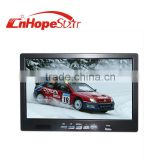 High quality remote control 16:9 7inch used car lcd monitor with av vga input