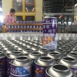!!!Hot Colorful Aerosol snow spray can/Party string color aerosol tin can manufacturer factory