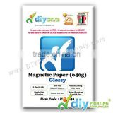 Magnetic Paper 640g (Glossy) (5 sheets/pkt)