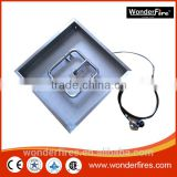 "Stainless Steel Square Drop In Fire Pit Pan (12"", 18"", 24"", 30"" and 36"")"