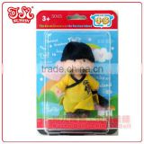Hot selling baby doll Chinese plastic keychain boy doll gift