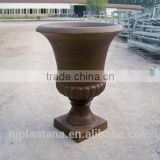 outdoor planter outdoor urns GRC urns for garden decoration