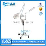 Wholesale price of YL-S05 Facial steamer+Magnifying Lamp,Vaporizer machine for salon use