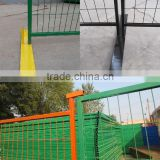 HT factory supply welded mesh construction panels,whole set Canada temporary fence design for South America