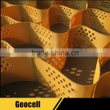 plastic honeycomb gravel grid geocells for driveways