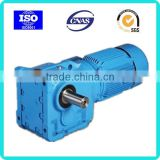 SEW style's helical bevel gear reducer right angle gear motor geared motors 800w 220v ac gear motor