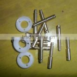 Micro nylon worm gear