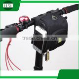 Mountain bike tube bag bicycle handlebar bag with rain cover bike accessories