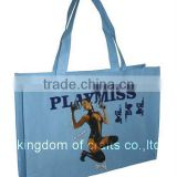 4C printing shopping bag with lamination