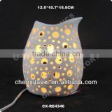 porcelain electric wax warmer Ceramic electric oil burner ceramic electric candle warmer ceramic night light