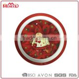 X'mas party event decorative item promotion Christmas hot selling full decal melamine plate