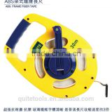 Double Sides Printed ABS Case Fibreglass Long Fabric Tape Measure Open Reel series Fiberglass Long Machinist Tape Measure