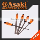 Various shape hand tool files set