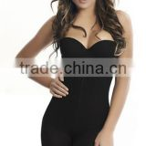 Functional body shaper with push bras bamboo