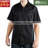 OEM High Quallity Mens' Uniforms Work Colorful Short Sleeve Work Wear Uniforms Shirts For Men