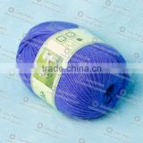 4/10nm wool and alpaca hand knitting yarn on ball