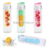 Hot Sale Fashion 760ml Sports Health Fruit Juice Bottle Water Tour Outdoor Sport Cup Bottle Plastic Bottle Four Colors