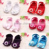 Girls Princess Pretty Flower Infant Baby Toddler Shoes