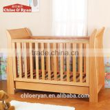 Safe& Eco-friendly Bamboo single baby bed ,baby cot/baby cribs