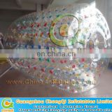 colorful inflatable water roller ball