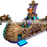 2015 new design sea monster pirate inflatable boat