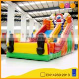 Commercial mini inflatable bounce slide with free EN14960 certificate